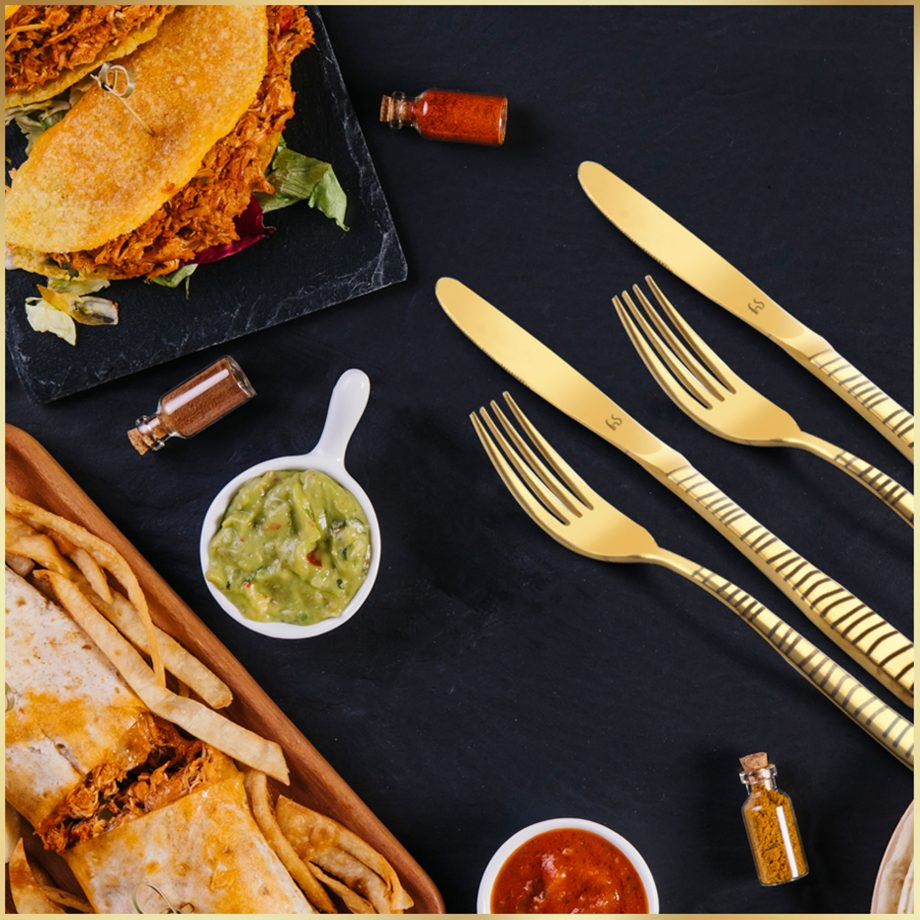 Capture Fine Dining Etiquette with Premium Cutlery/Flatware