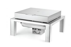 Square Straight Line Steel Top
