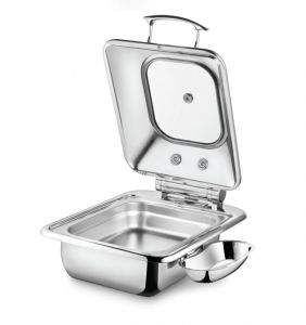 Square Induction 4.5L- Glass Lid